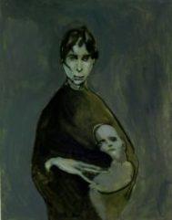 Triste maternidad